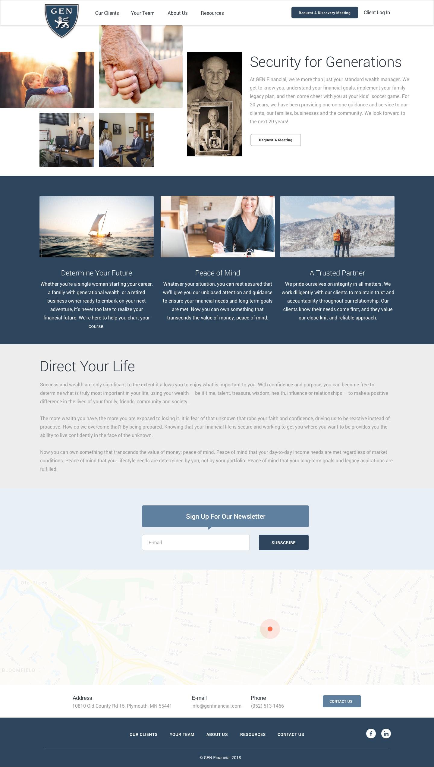 GEN Home Page