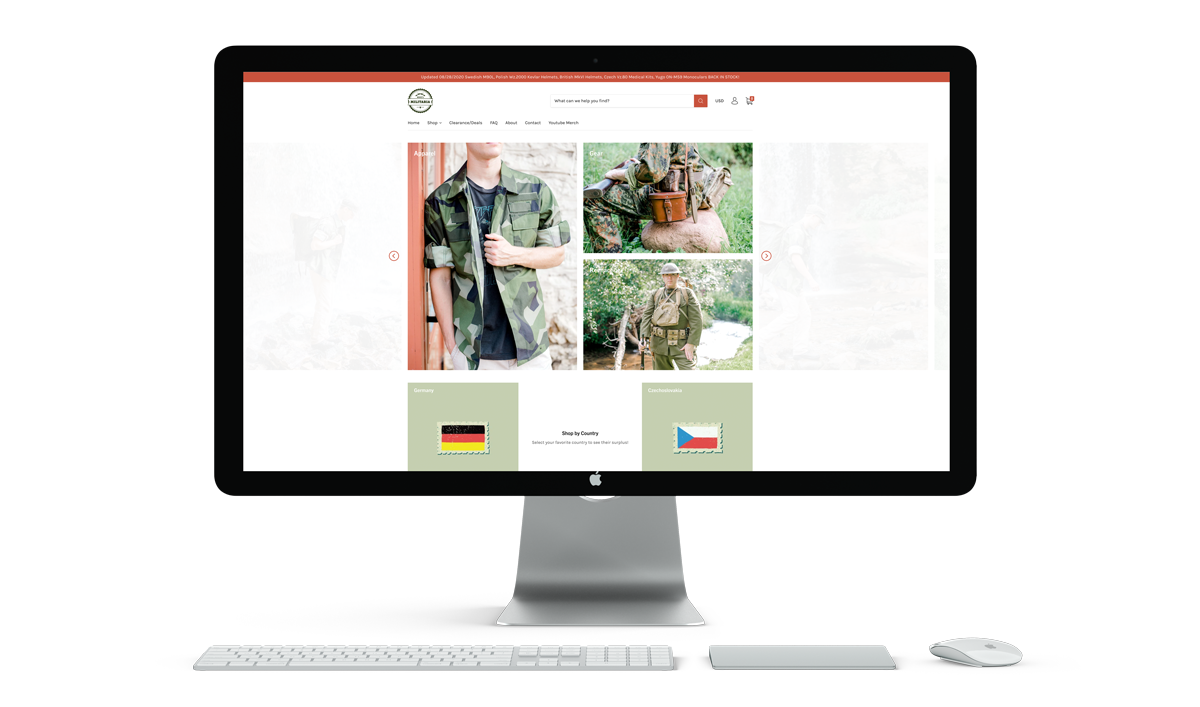 mikesmilitaria-website